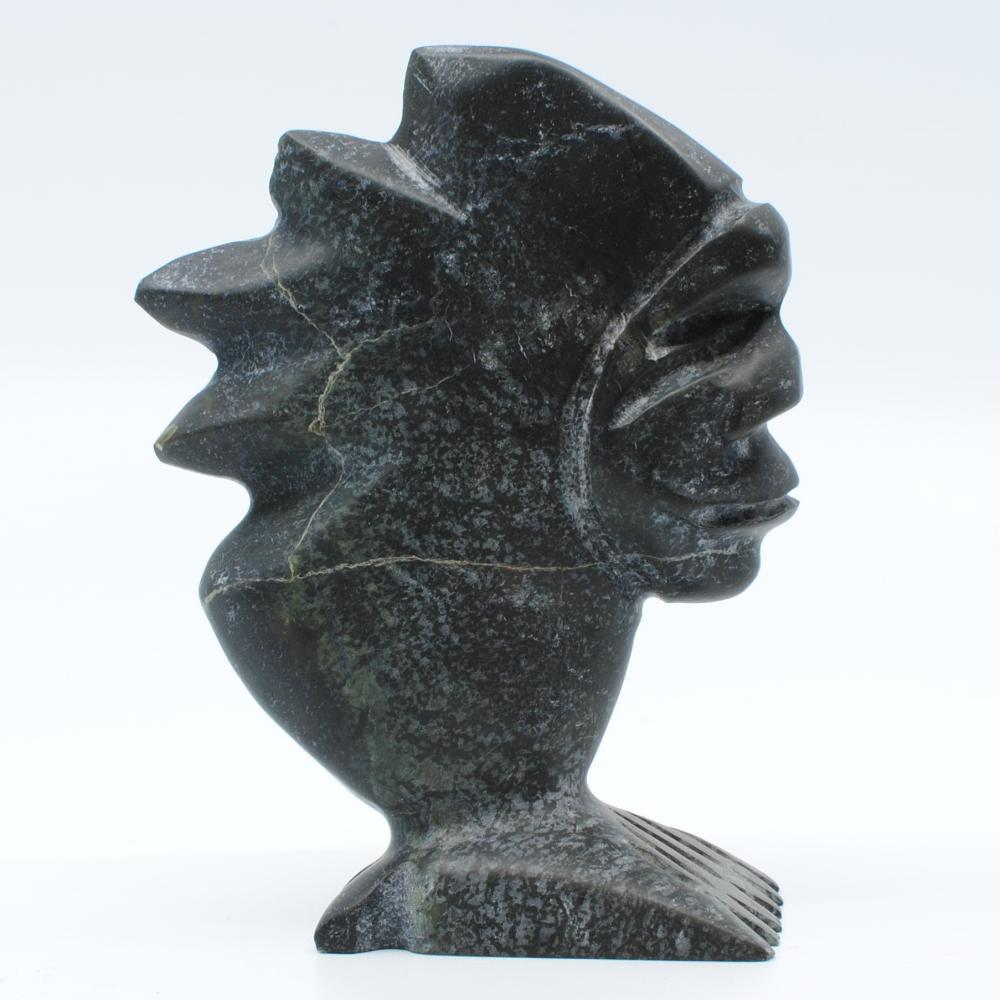 "Albert Qayutinnuaq's ""Bird Spirit"" Org. Inuit Carving"