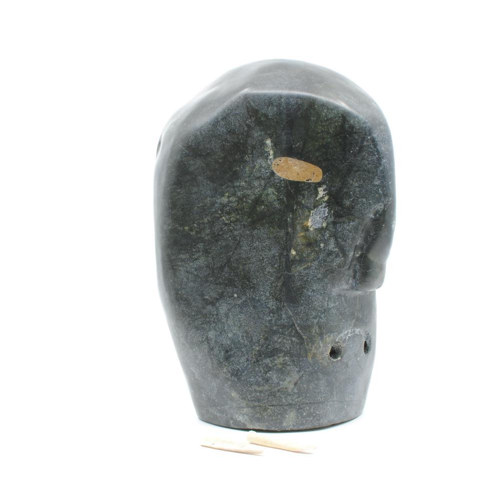 "Eliyah Sika's ""Demon"" Original Inuit Carving"