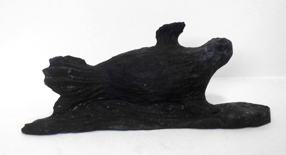 """Paul Aaluk's """"Seal"""" Original Inuit Carving"""
