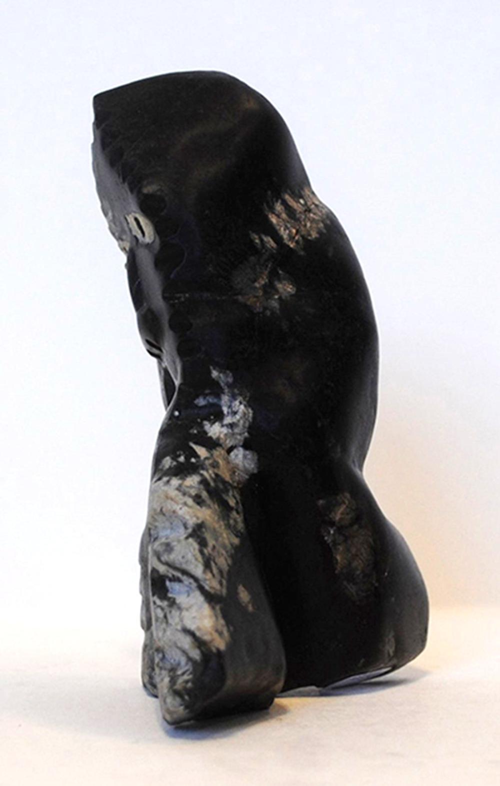 "Clifford Manilaq's ""Shaman"" Original Inuit Carving"