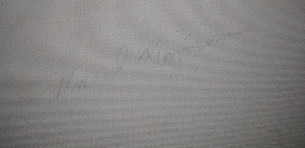 """Norval Morrisseau's """"Man Connected"""" Original"""