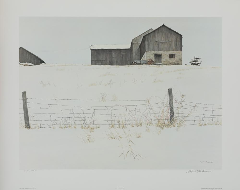 """Robert Bateman's """"Centennial Farm"""" Limited Edition Print"""