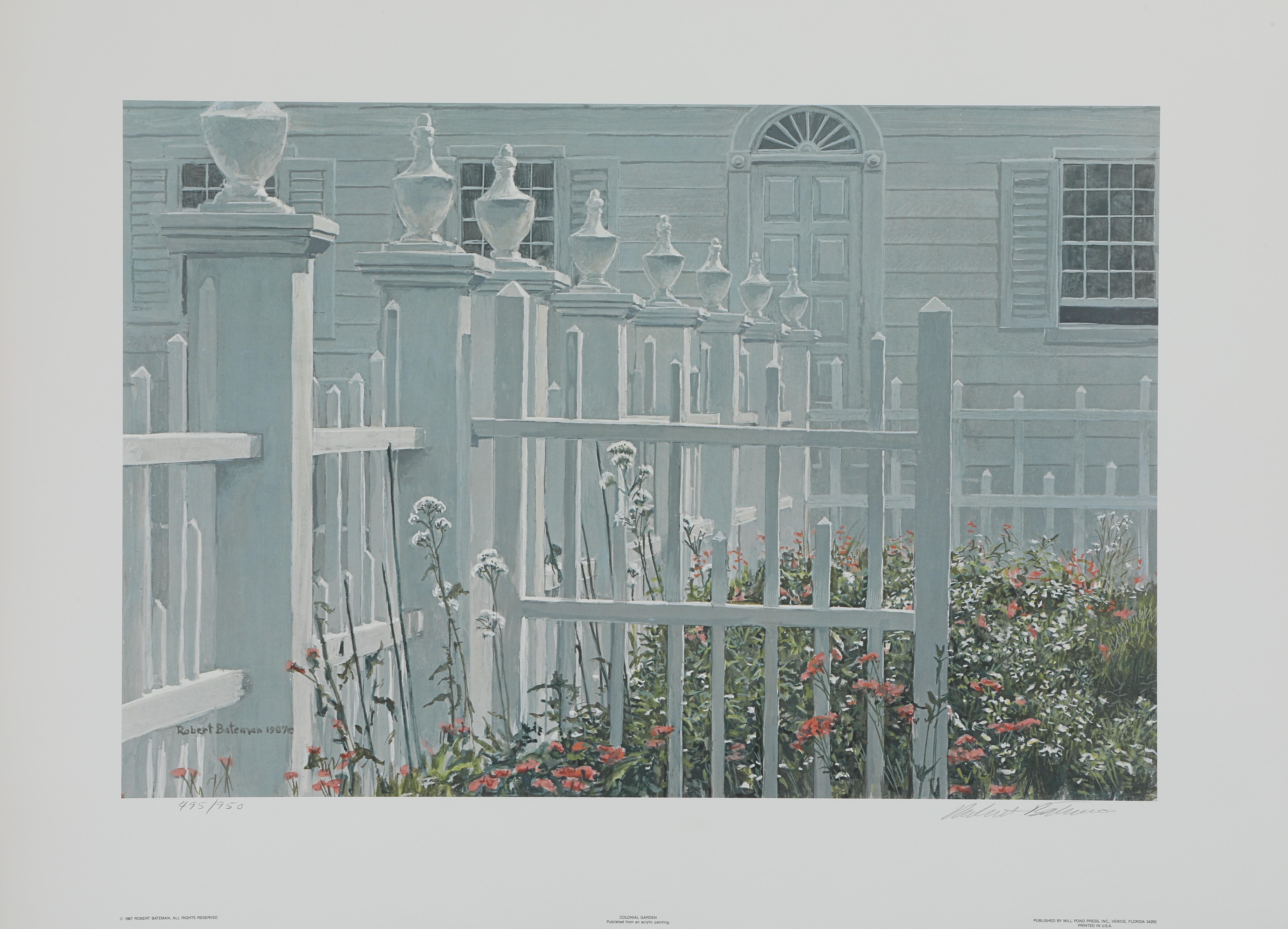 "Robert Bateman's ""Colonial Garden"" Limited Edition Print"
