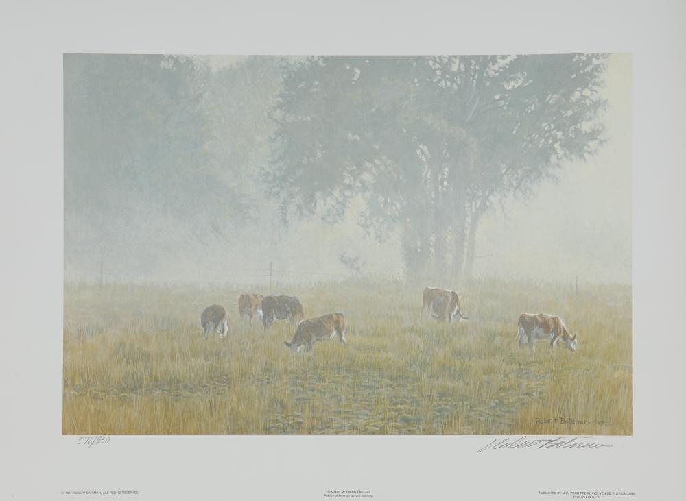 "Robert Bateman's ""Summer Morning Pasture"" Limited Edition Print"