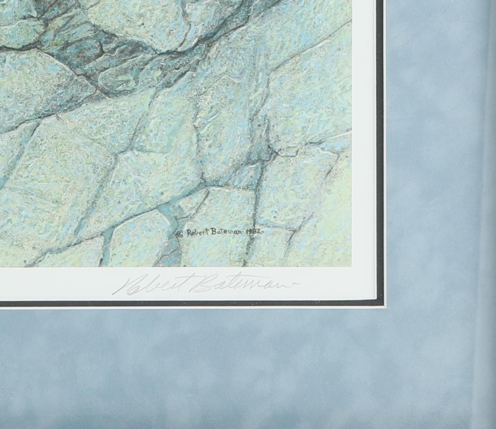 "Robert Bateman's ""Leopard Ambush"" Limited Edition Print"