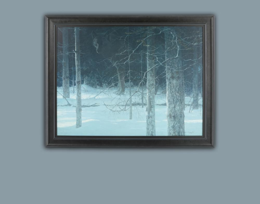 "Robert Bateman's ""Midnight Black Wolf"" Limited Edition Rigiclee"