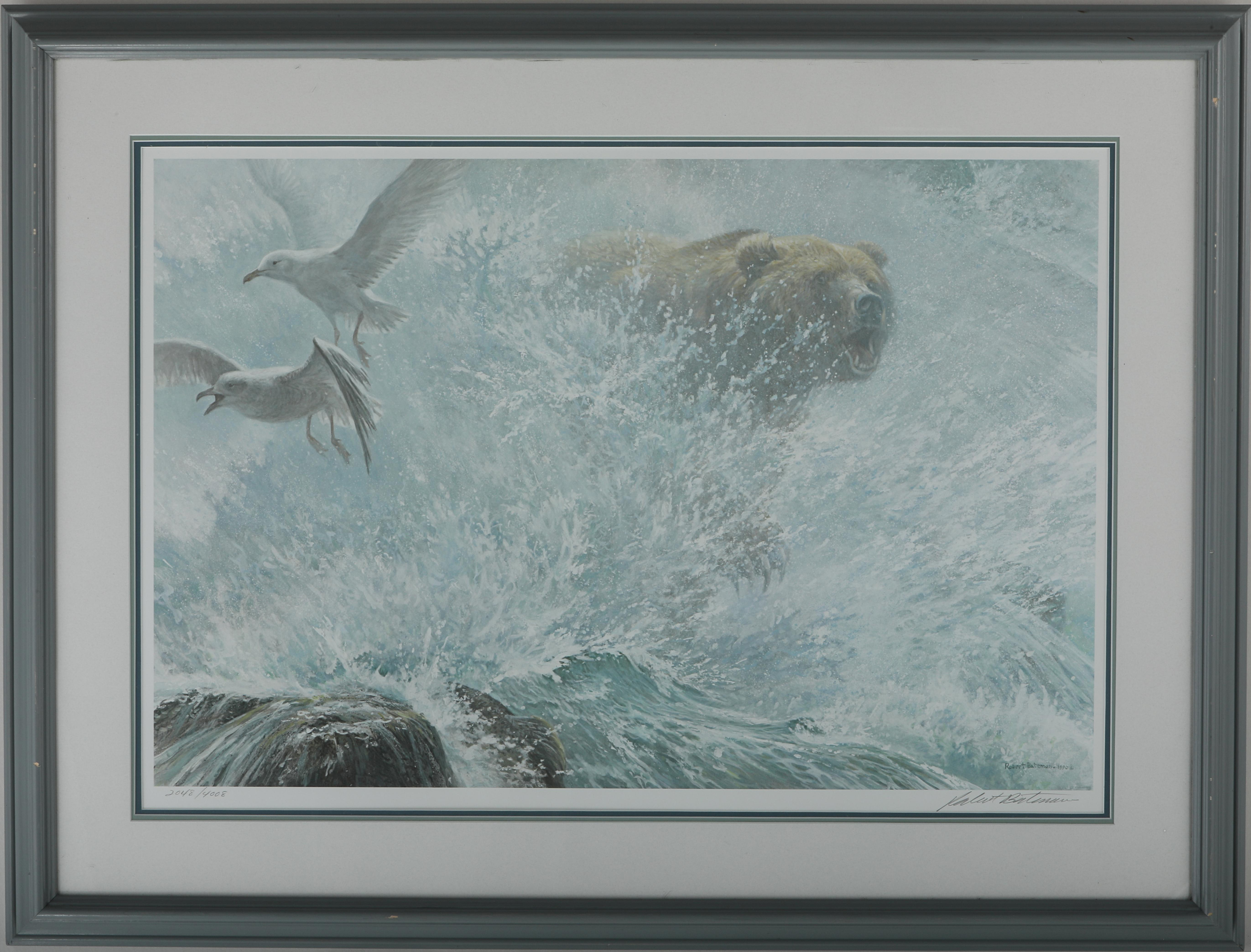 """Robert Bateman's """"Endangered Spaces - Grizzly"""" Limited Edition Print"""