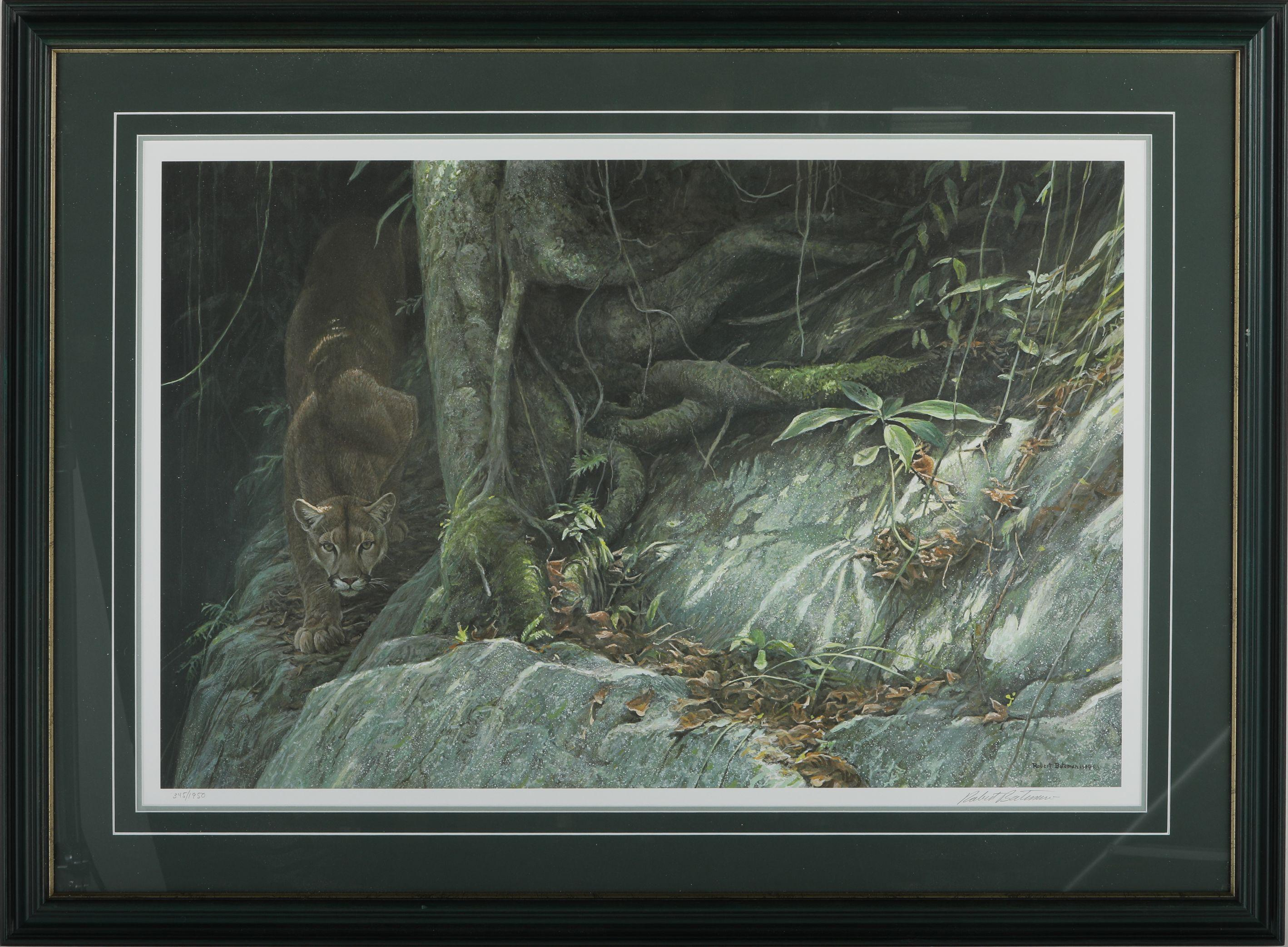 "Robert Bateman's ""Path of the Panther"" Limited Edition Print"