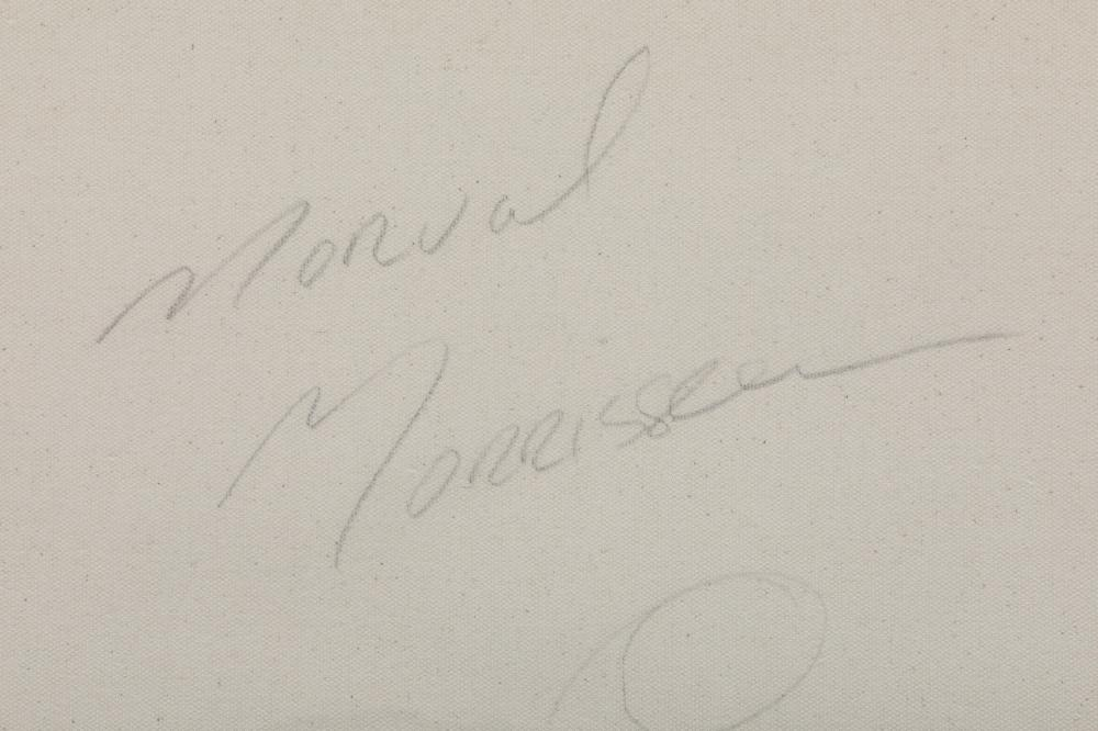 "Norval Morrisseau's ""Ancient with Birds"" Original"