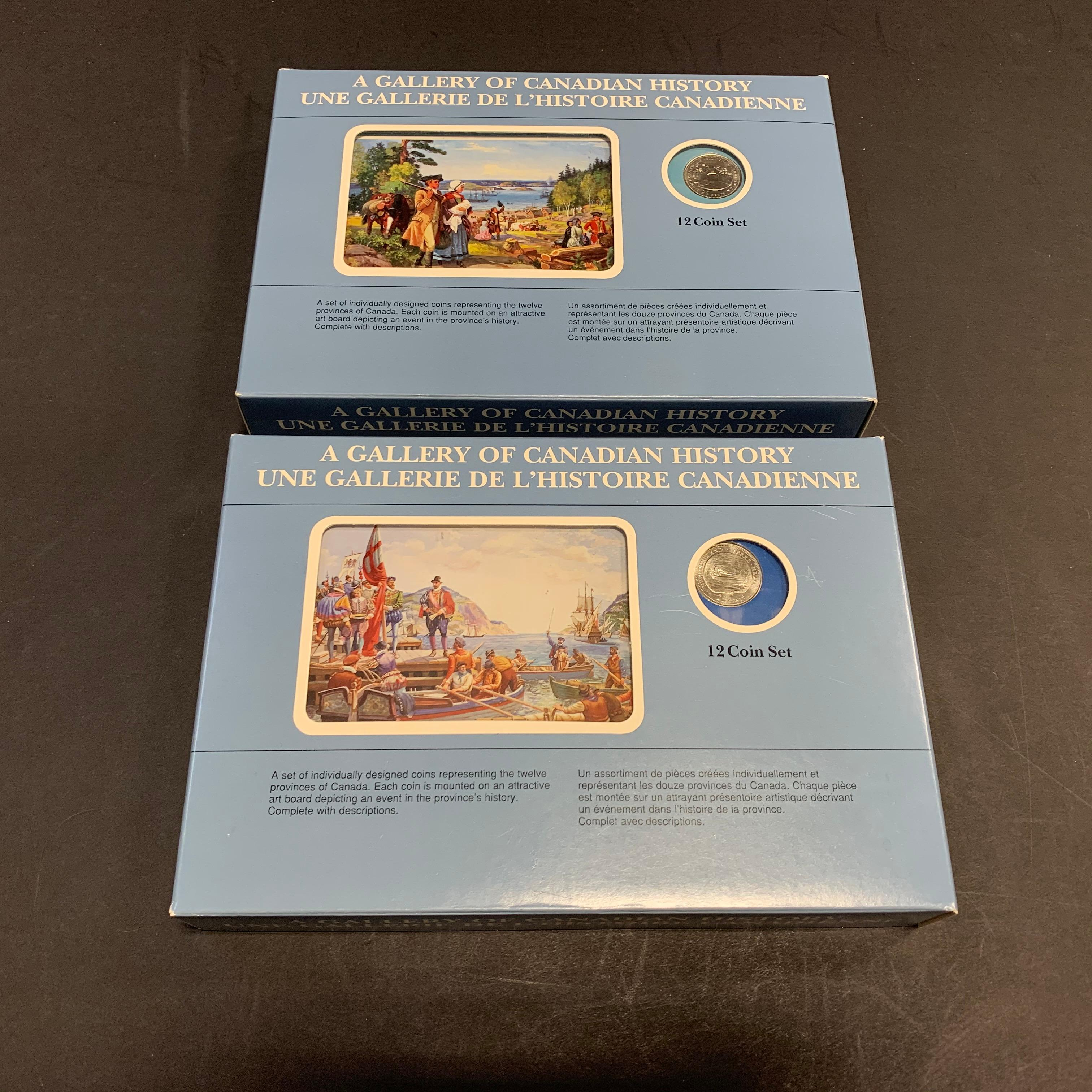 Canada Gallery of Canadian History Coin Sets