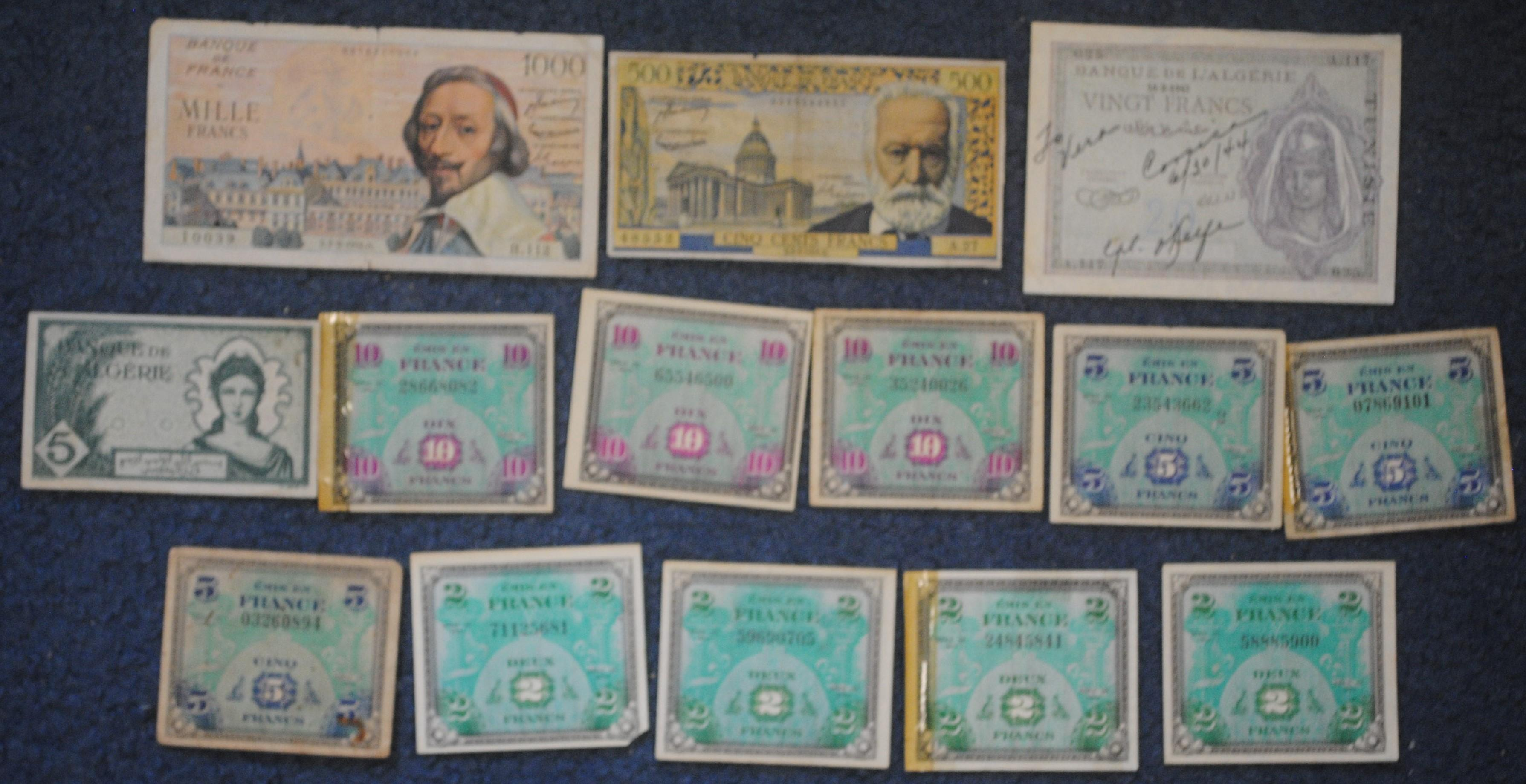 France Banknote Collection 1