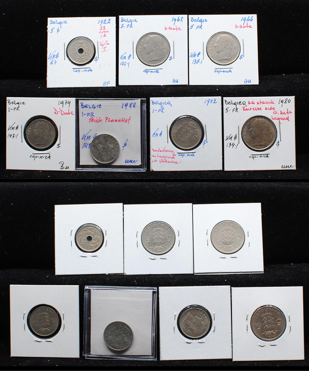 Belgium Coin Collection 2