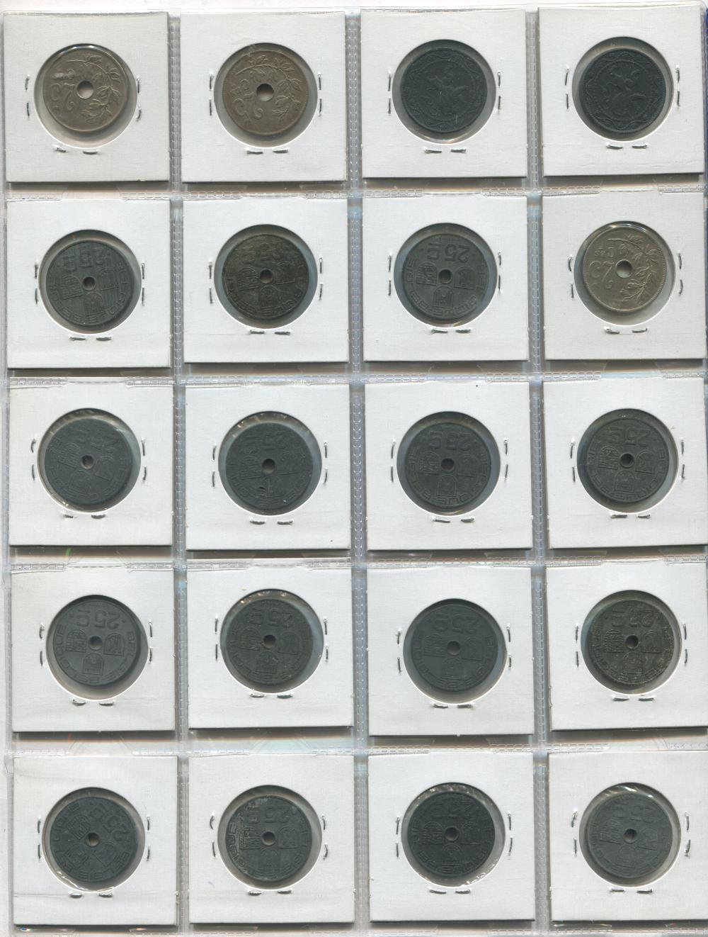 Belgium Coin Collection 1