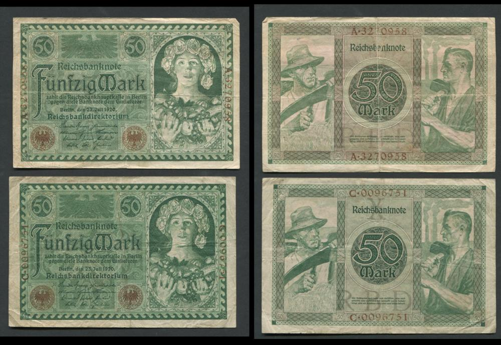 Germany Banknote Collection 2