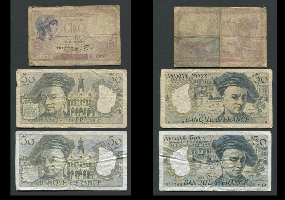 France Banknote Collection 2