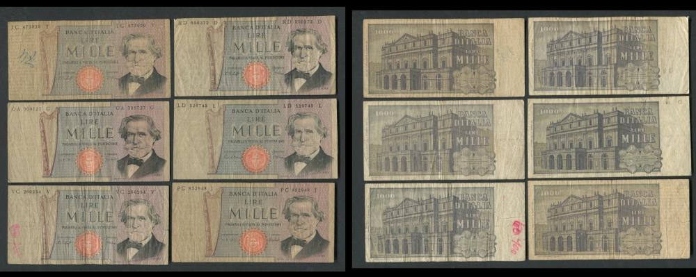 Italy Banknote Collection