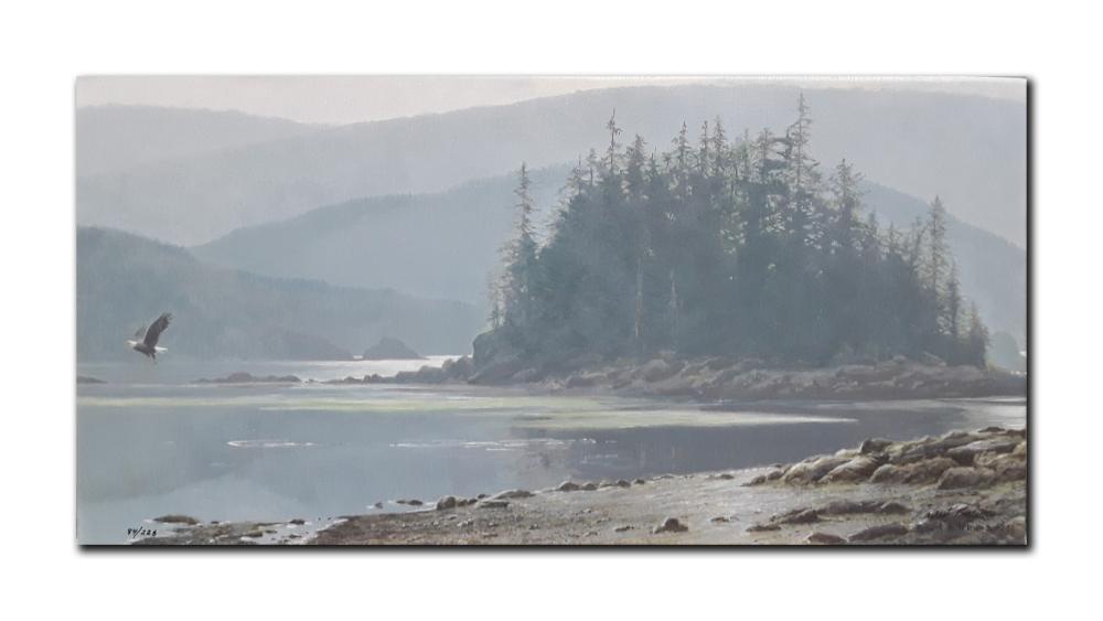 "Robert Bateman's ""Along The Coast"" Limited Edition Canvas"