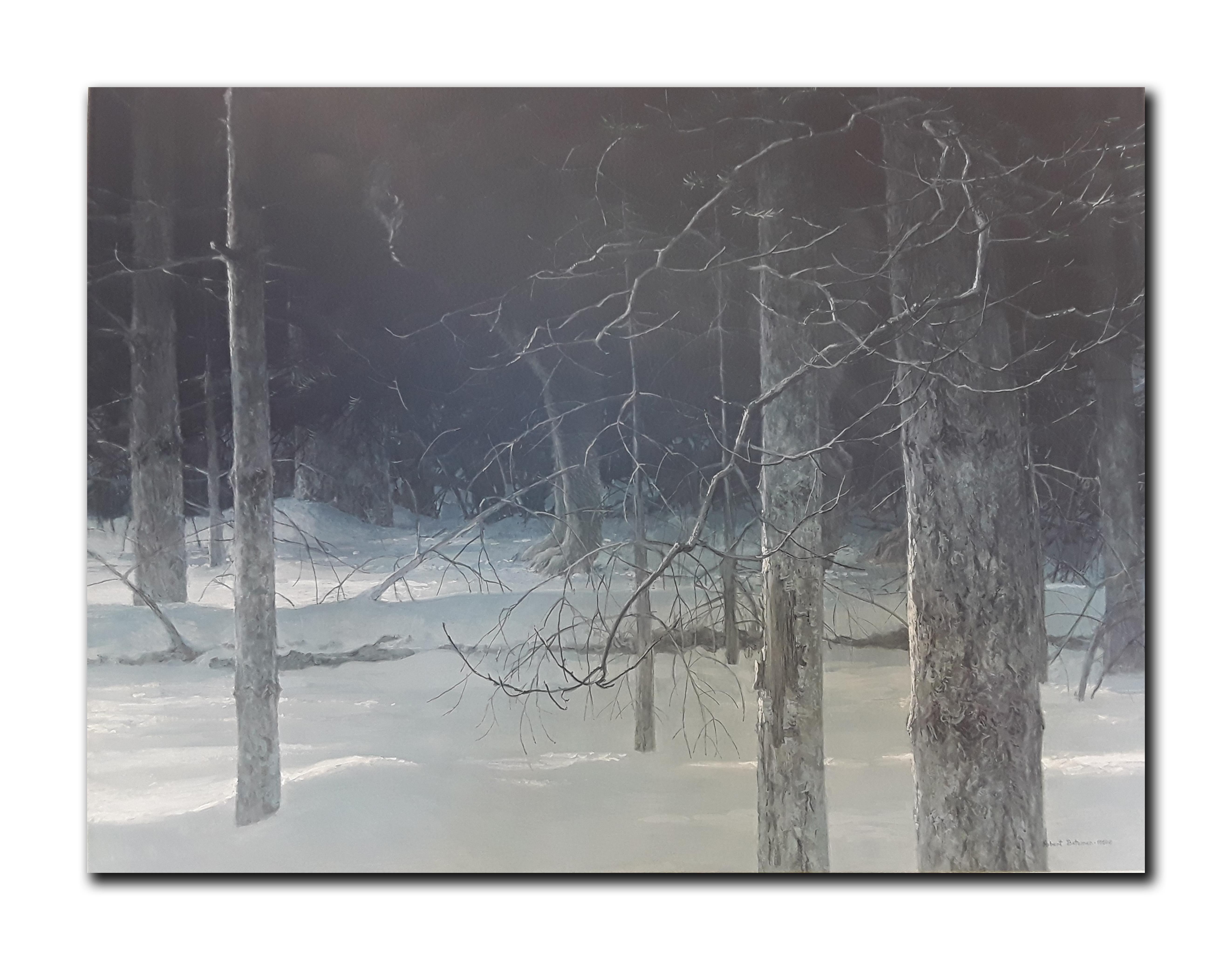 "Robert Bateman's ""Midnight- Black Wolf"" Limited Edition Print"