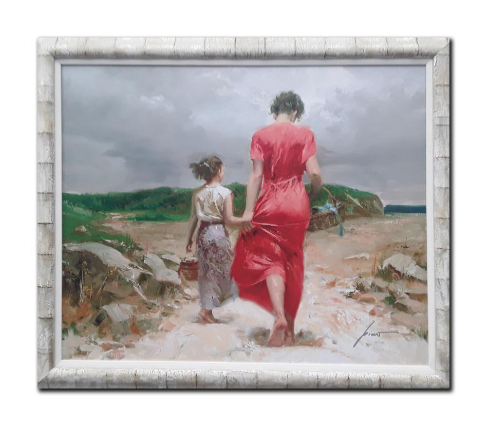 "Pino's ""Homeward Bound"" Limited Edition Framed Canvas"