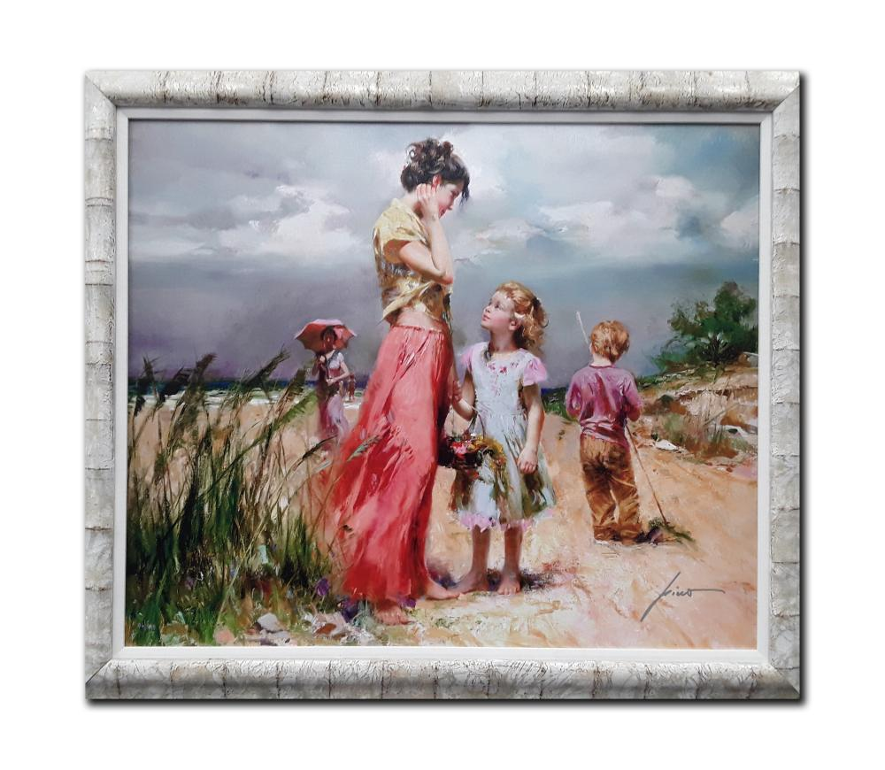 """Pino's """"Remember When"""" Limited Edition Framed Canvas"""