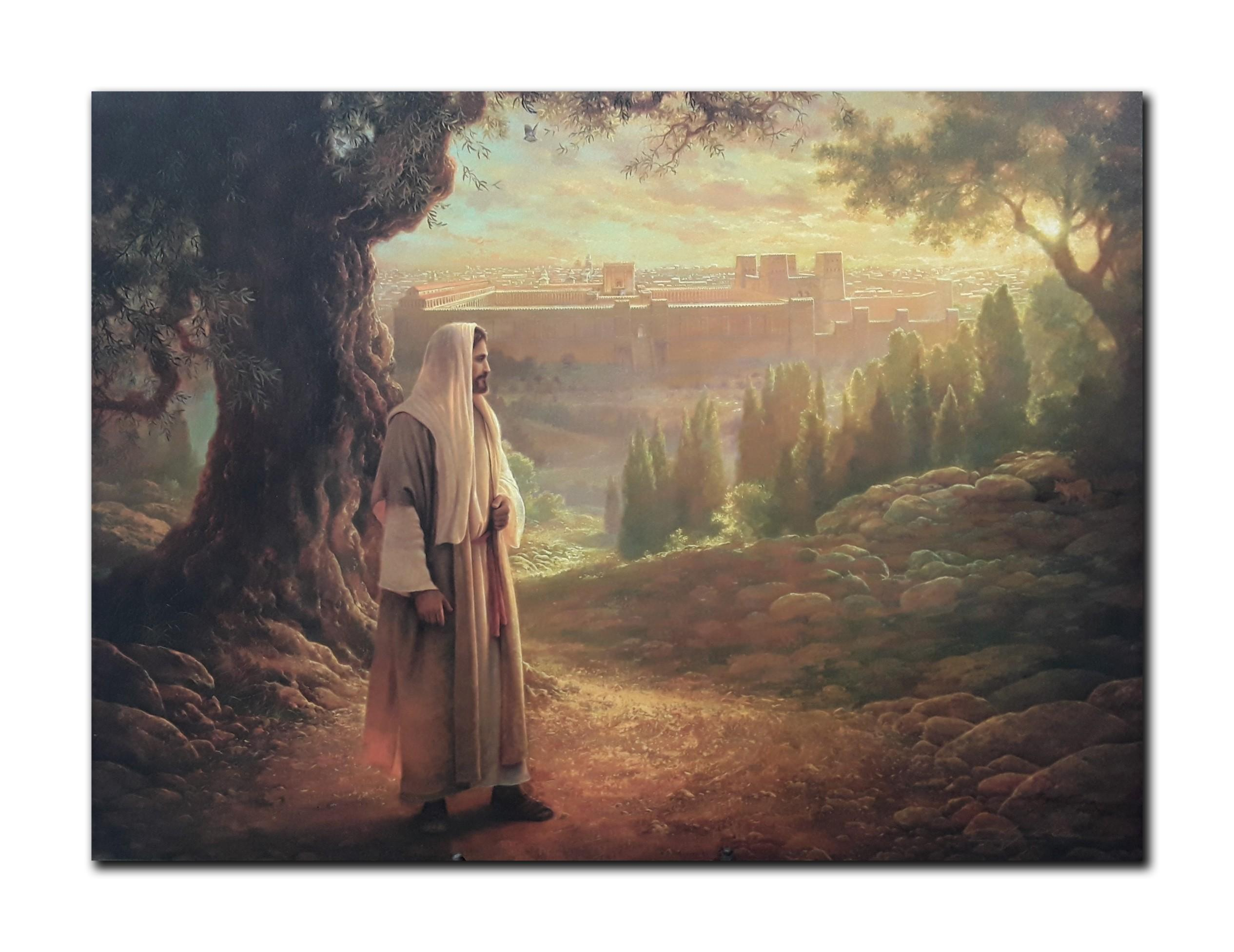 "Greg Olsen's ""Wherever He Leads Me"" Limited Edition Canvas"