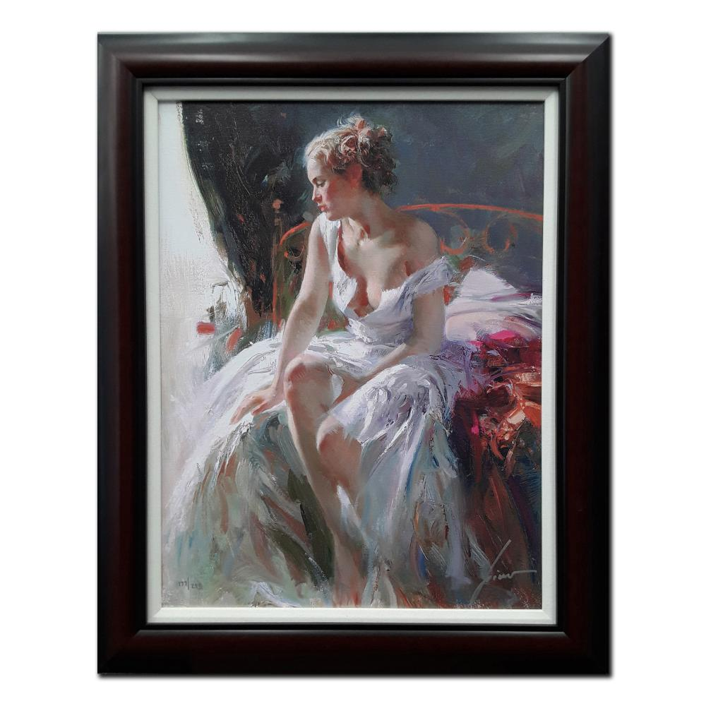 """Pino's """"Morning Breeze"""" Limited Edition Framed Canvas"""