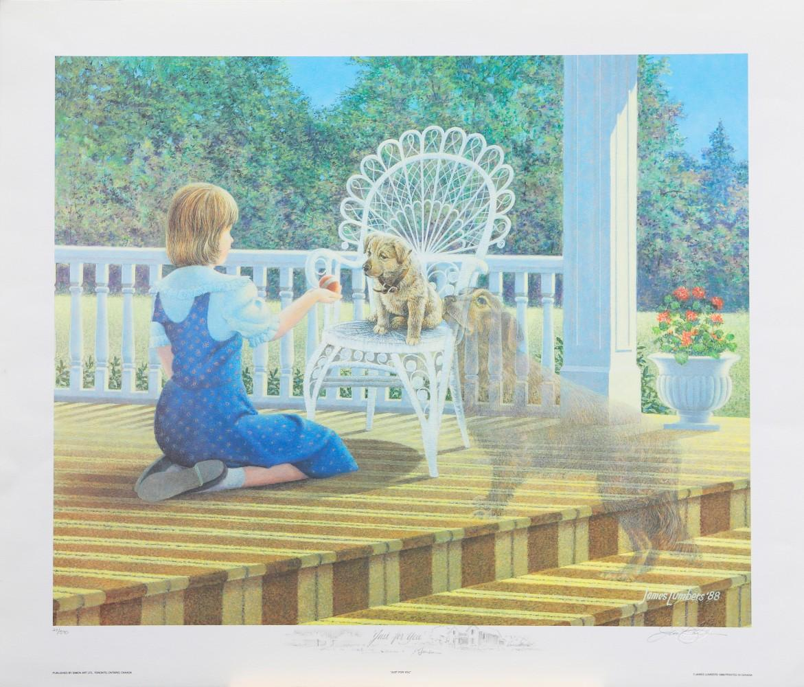 """James Lumbers' """"Just For You"""" Limited Edition Print"""