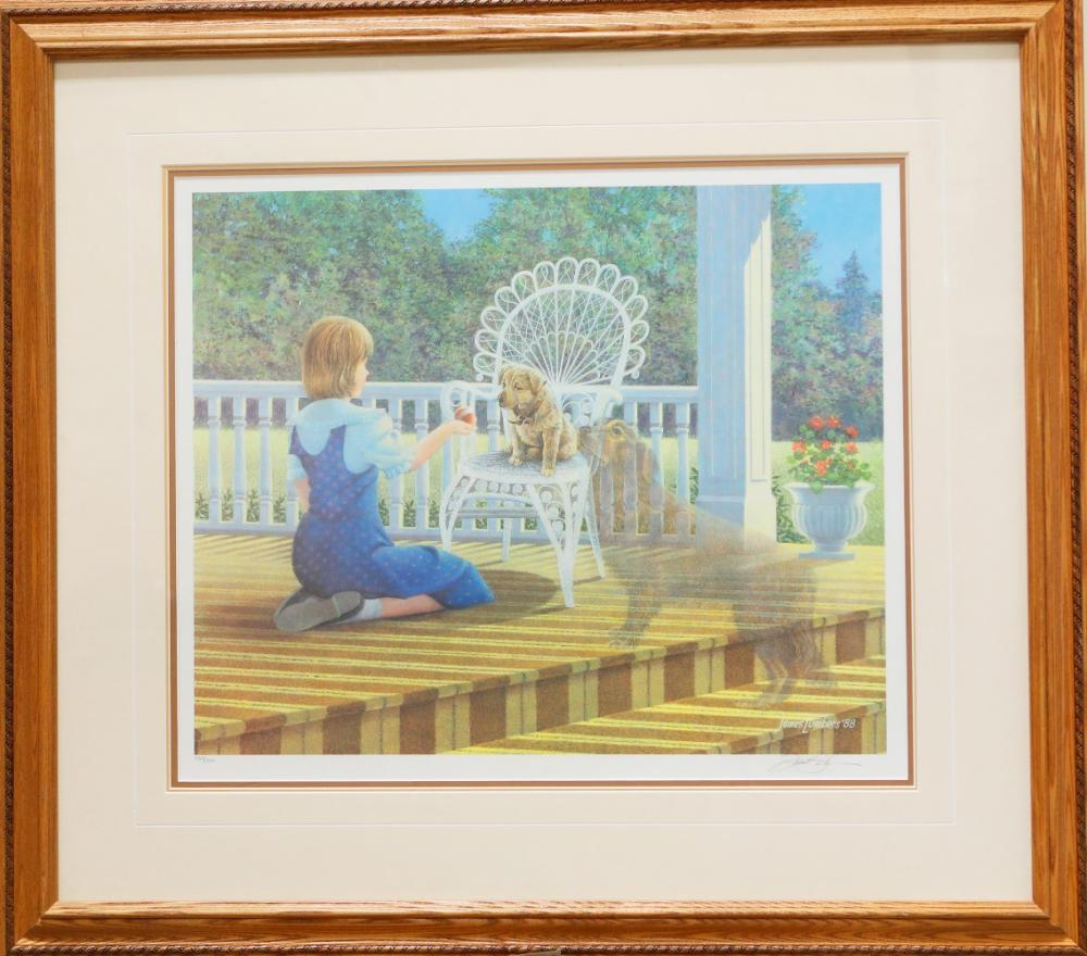 """James Lumbers' """"Just For You"""" Limited Edition Framed Print"""