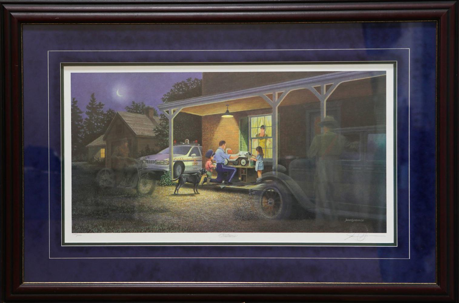 "James Lumbers' ""Traditions"" Limited Edition Framed Print"
