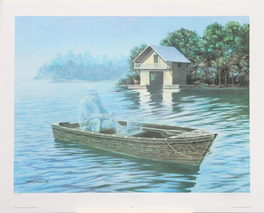 "James Lumbers' ""Adrift"" Limited Edition Print"