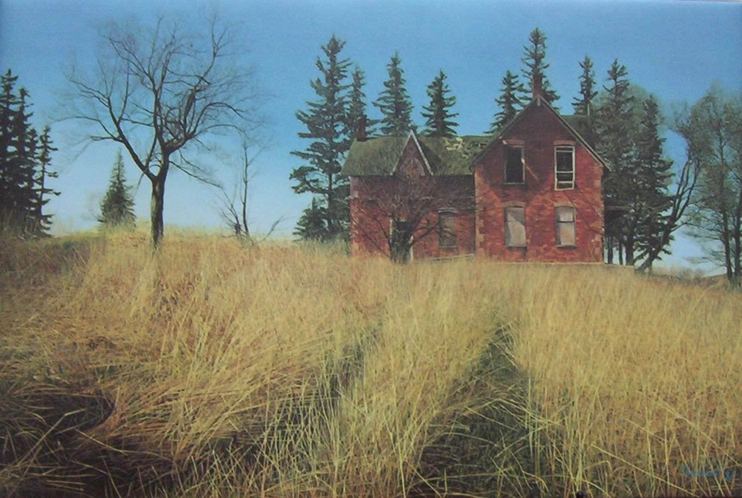 """Brent Townsend's """"King's Farmhouse"""" Limited Edition Print"""