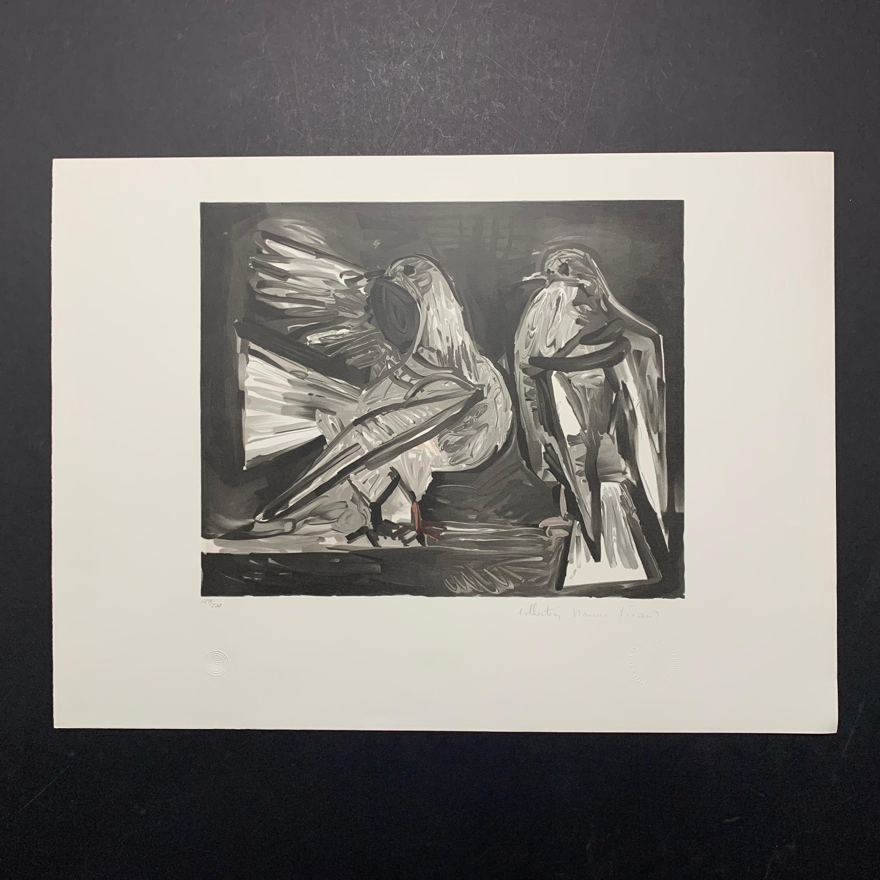 "Pablo Picasso's ""Deux Pigeons"" Limited Edition Lithograph"