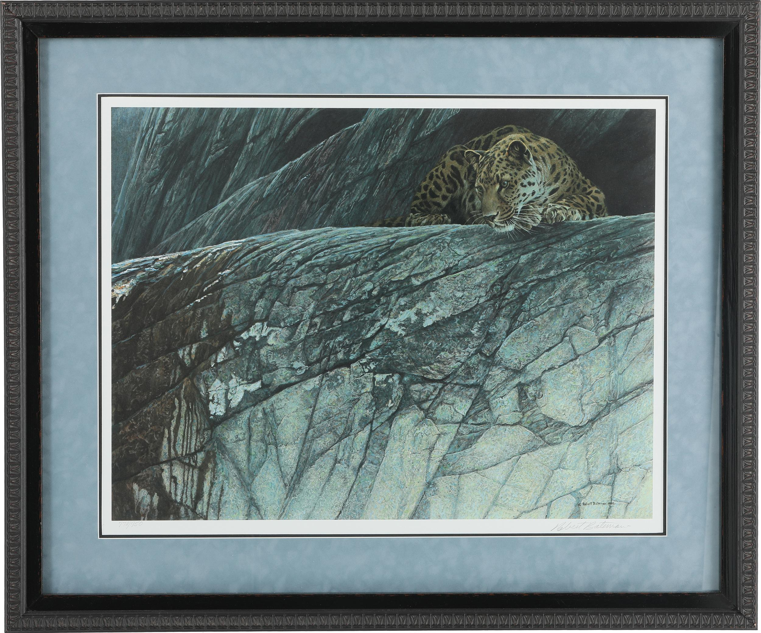 "Robert Bateman's ""Leopard Ambush"" Limited Edition Print"