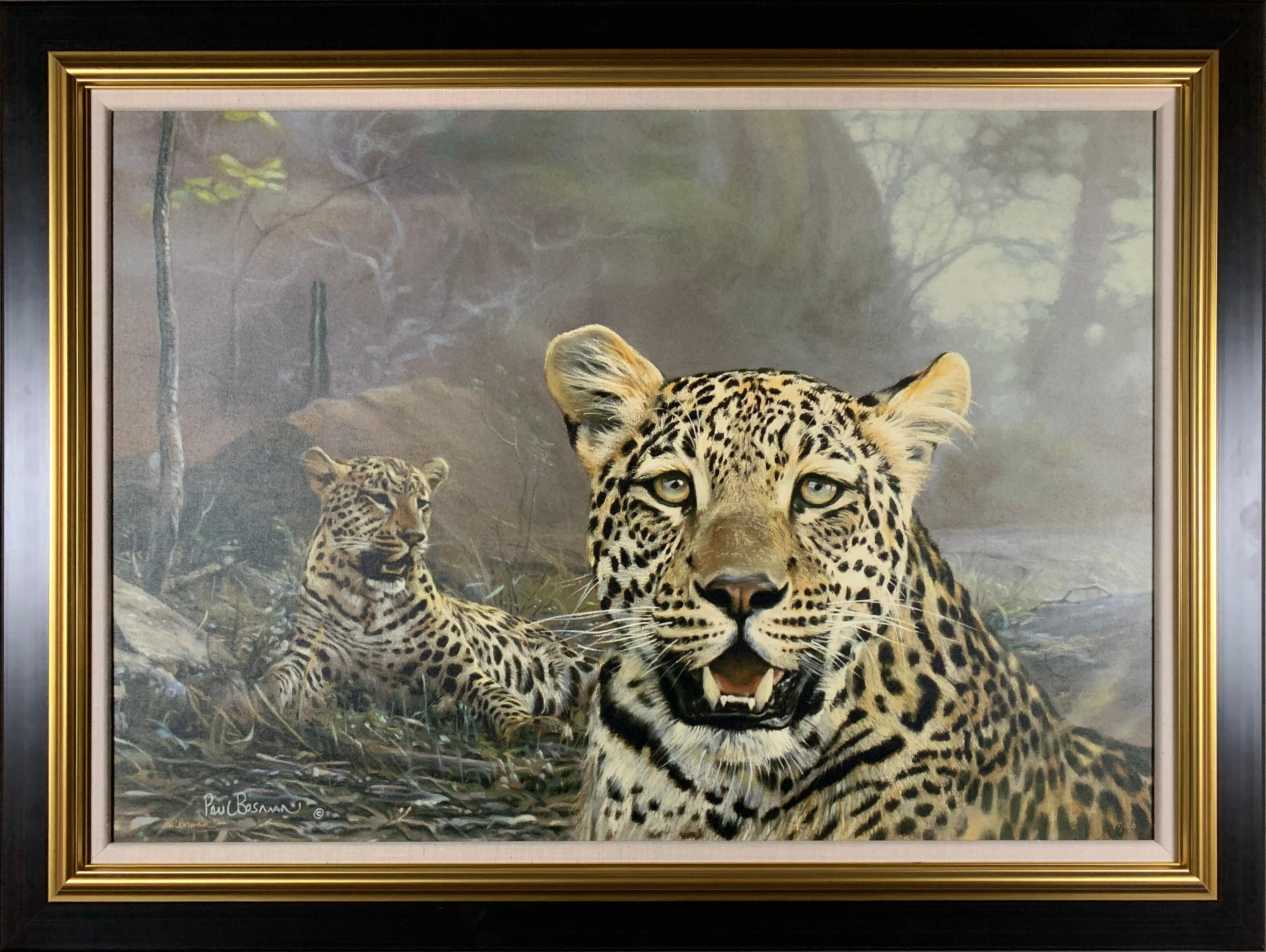 """Paul Bosman's """"Secluded Courtship"""" Limited Edition Canvas"""