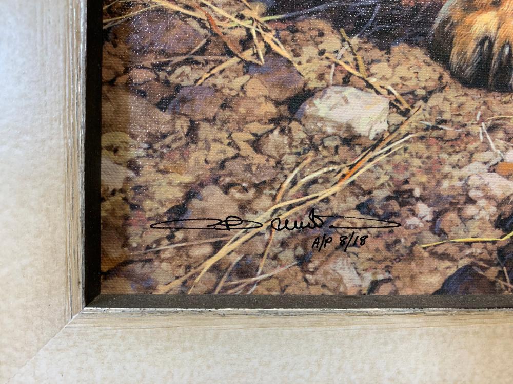 "Carl Brenders' ""Message on the Wind"" Artist Proof Rigiclee"