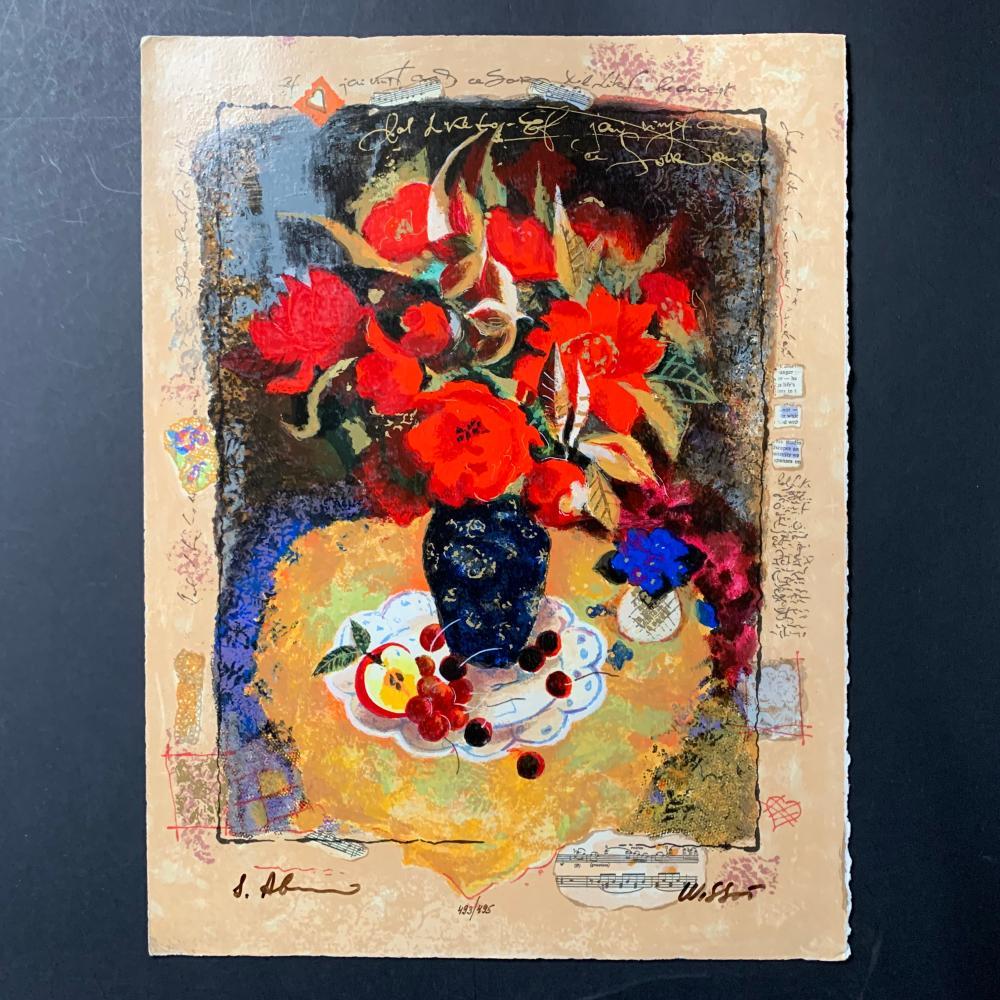 "Alex and Tina Wissotzki's ""Flowers With Fruit"" Limited Edition"