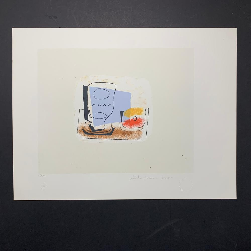 "Pablo Picasso's ""Nature Morte au Verre"" Limited Edition Lithograph"