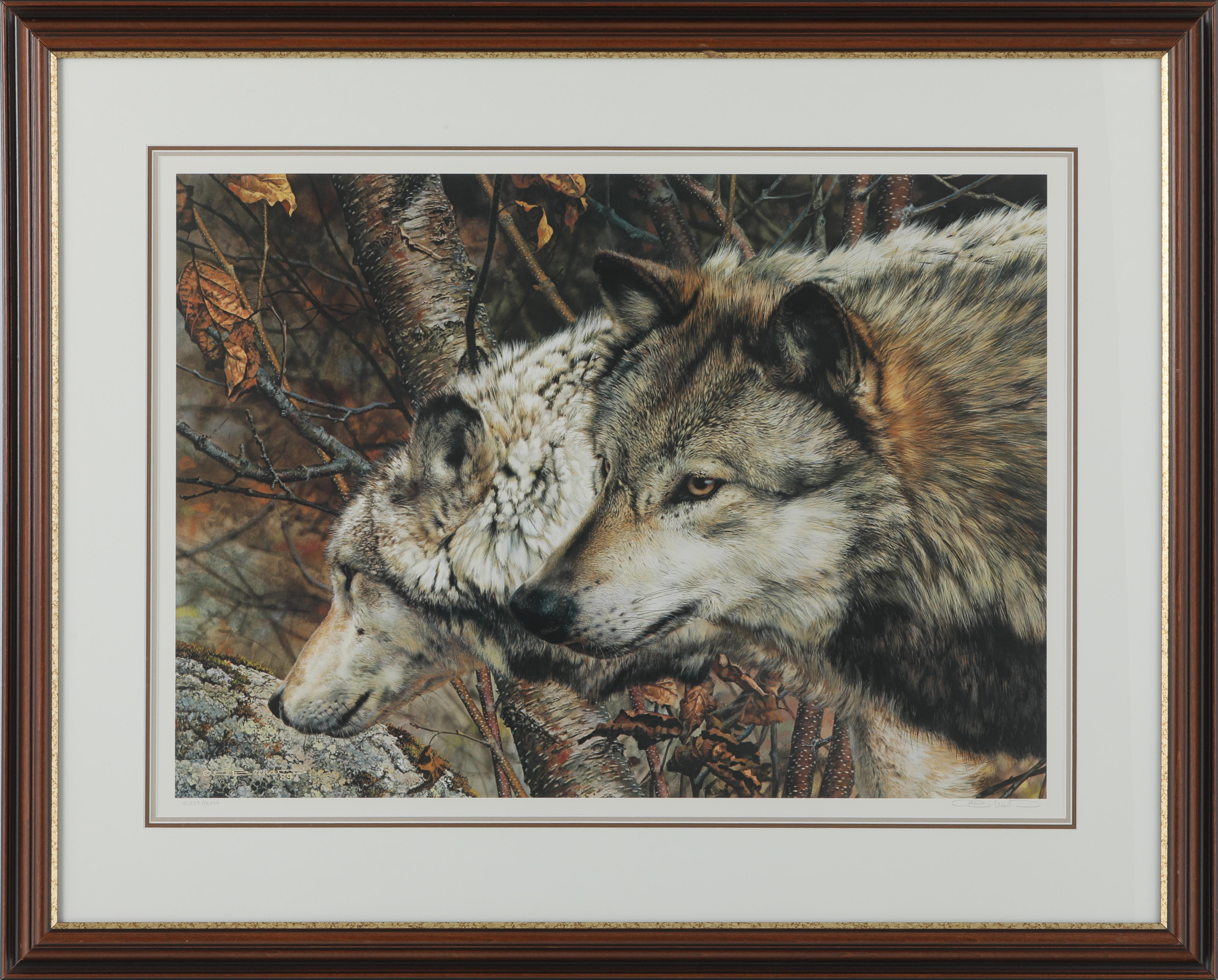 "Carl Brenders' ""The Companions"" Limited Edition Framed Print"