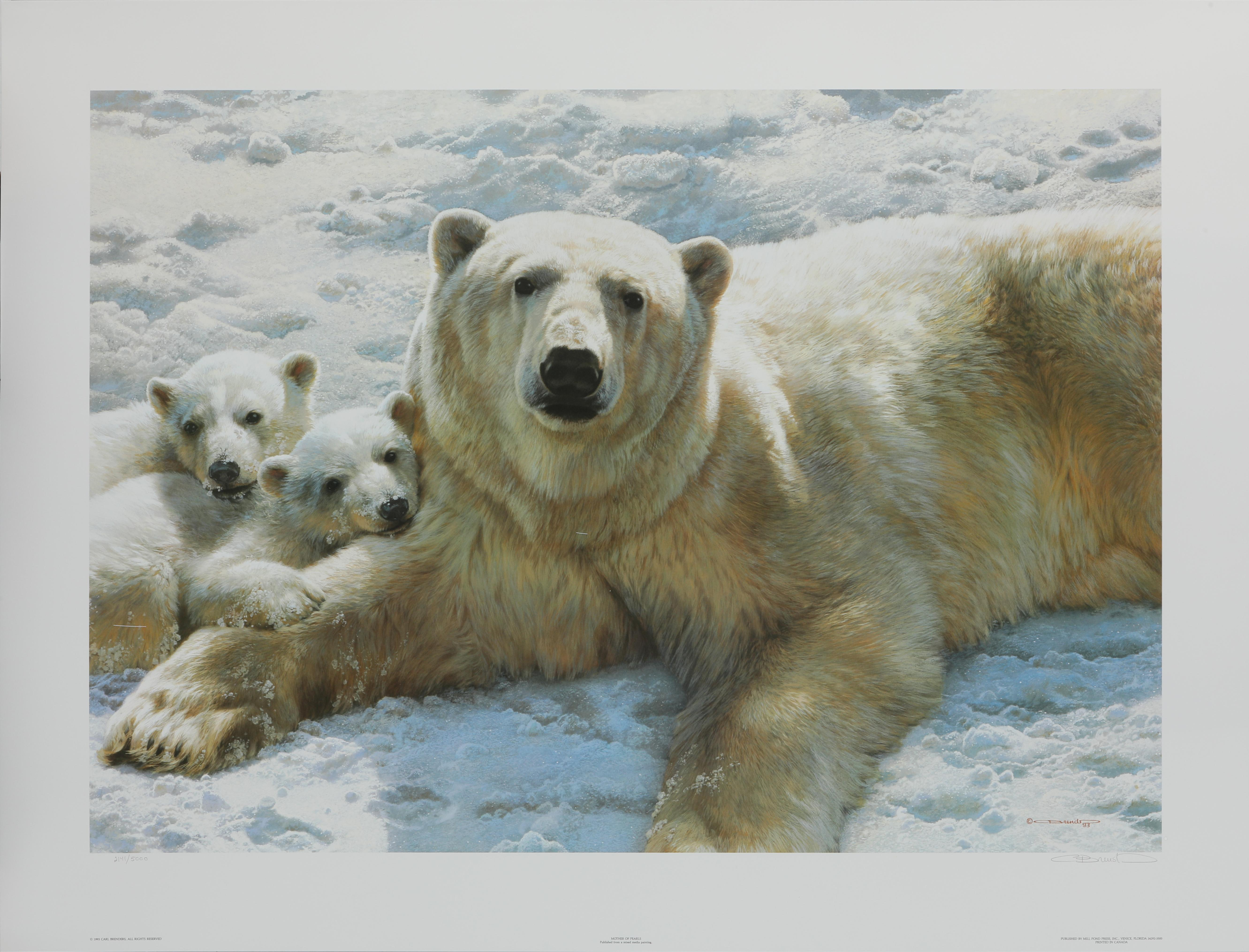 """Carl Brenders' """"Mother of Pearls"""" Limited Edition Print"""