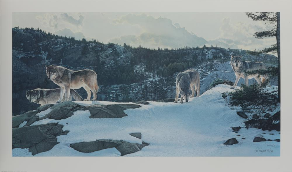 """Brent Townsend's """"Open Ridge"""" Limited Edition Print"""