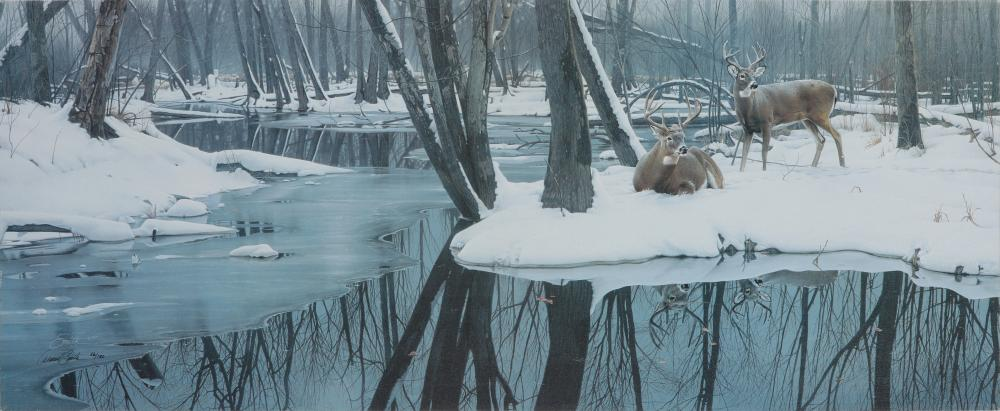 """Daniel Smith's """"Winter Whites"""" Limited Edition Giclee Canvas"""