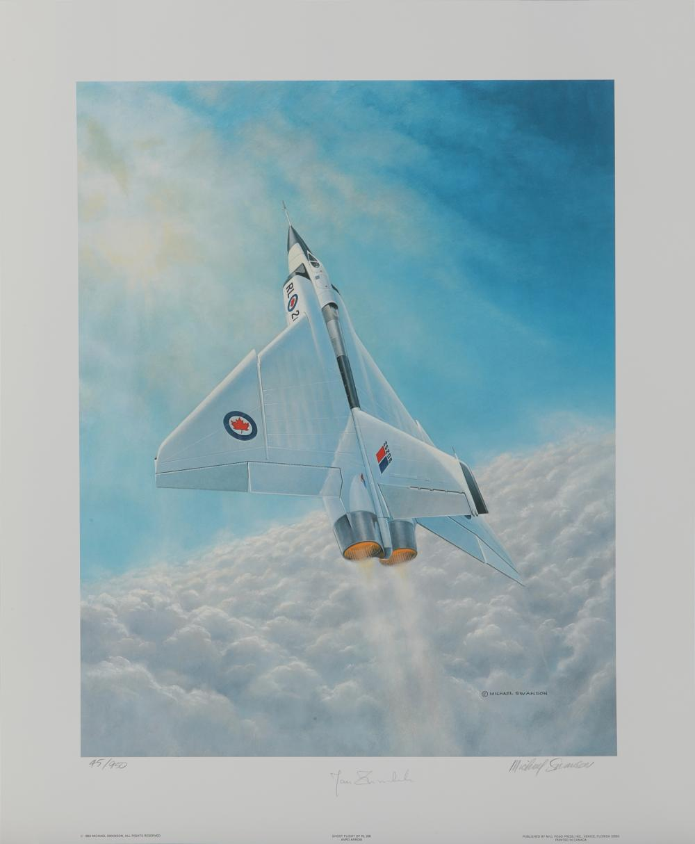 "Michael Swanson's ""Ghost Flight Of RL206"" Limited Edition Print"