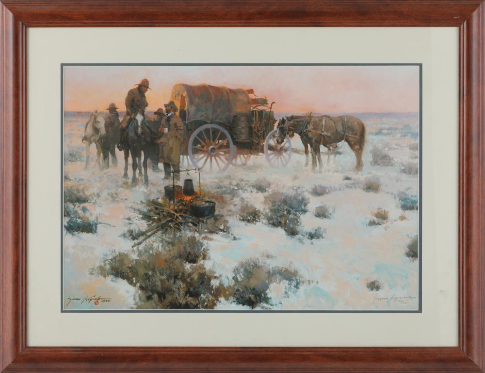 James Reynolds Western Theme Limited Edition Print