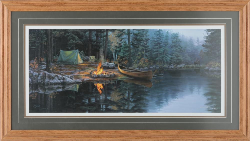 "Darrell Bush's ""A Place in the Pines"" Limited Edition AP Print"