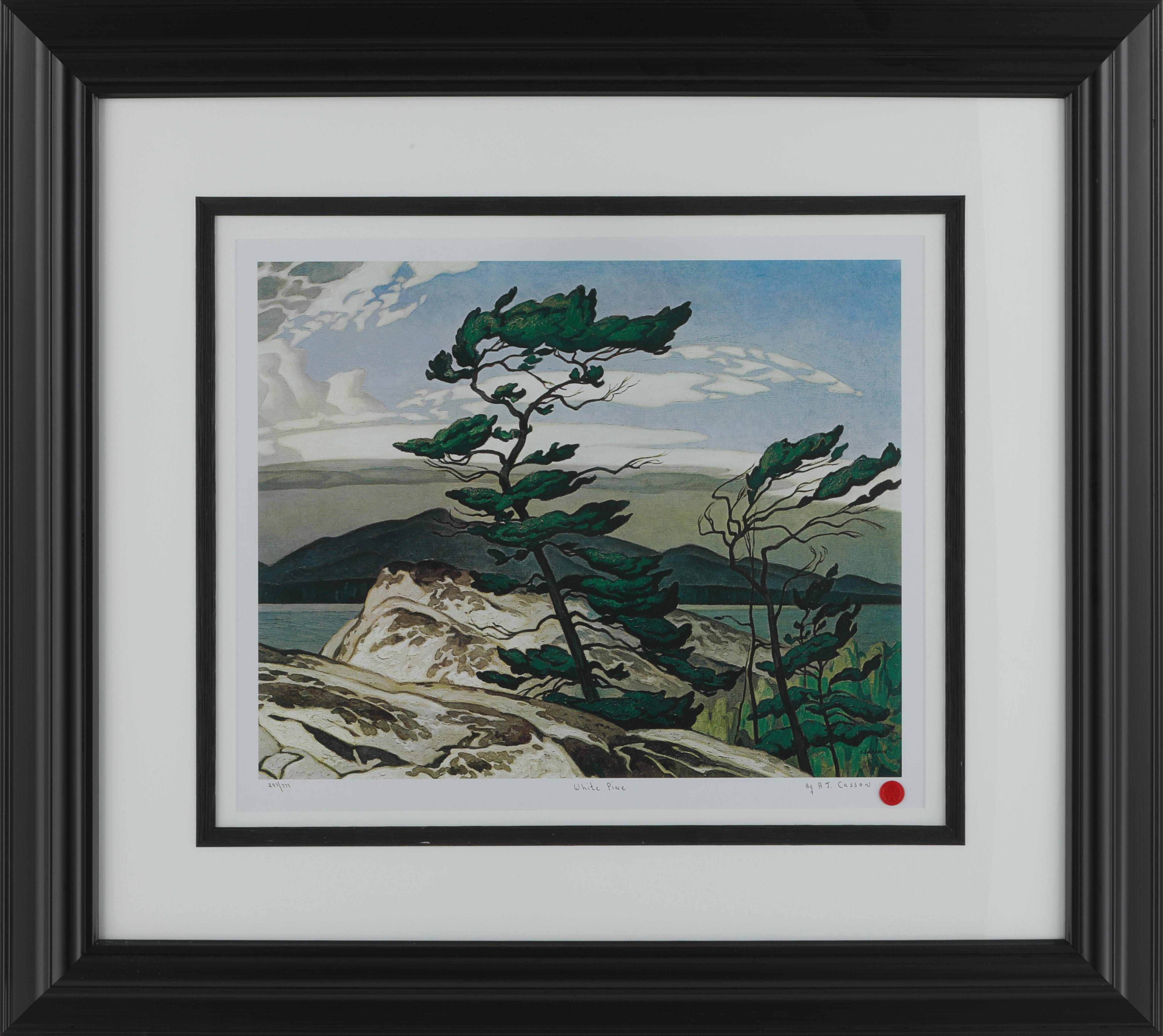 "A.J. Casson's ""White Pine"" Limited Edition Print"