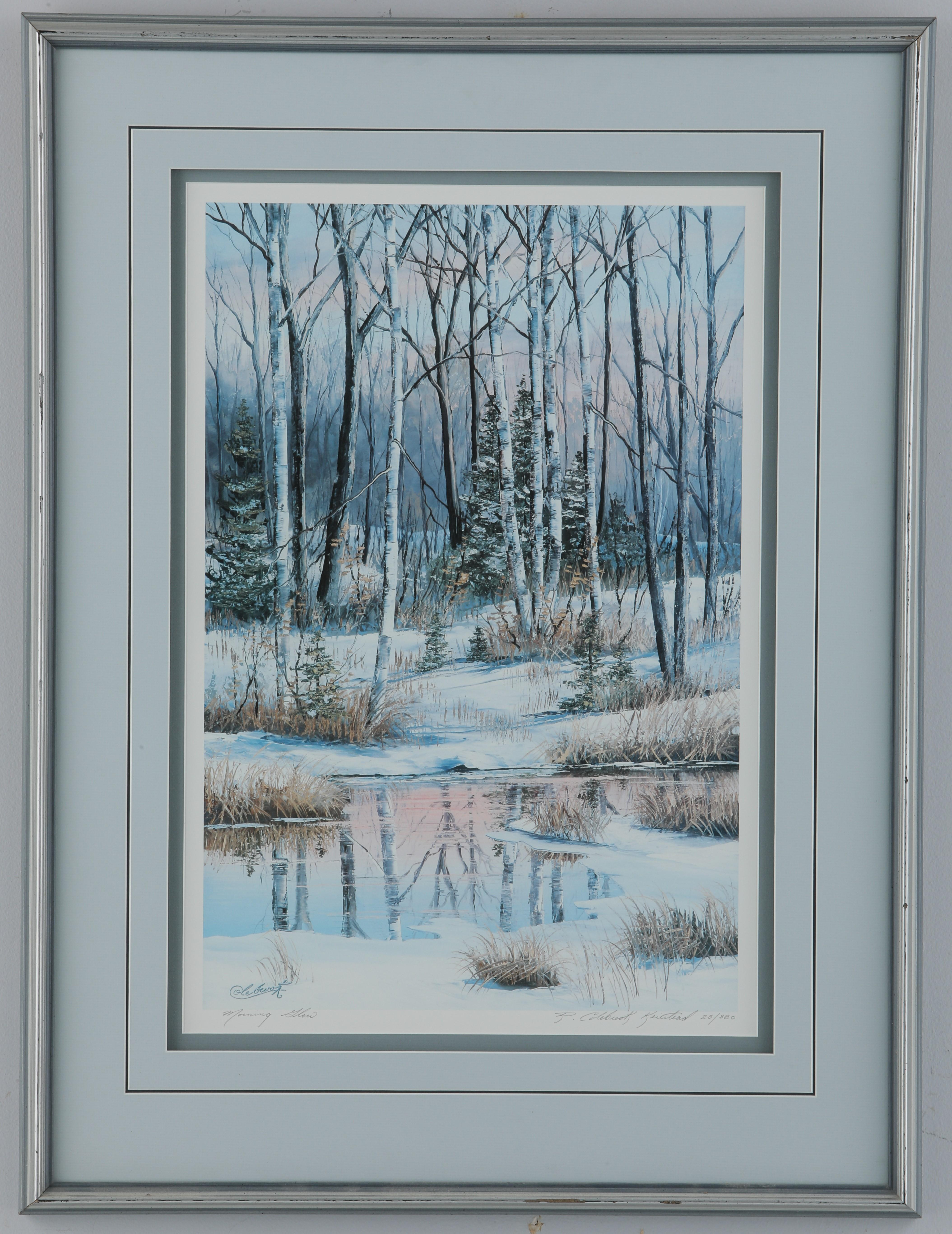 """Colebrook Kierstead's """"Morning Glow"""" Limited Edition Framed Print"""