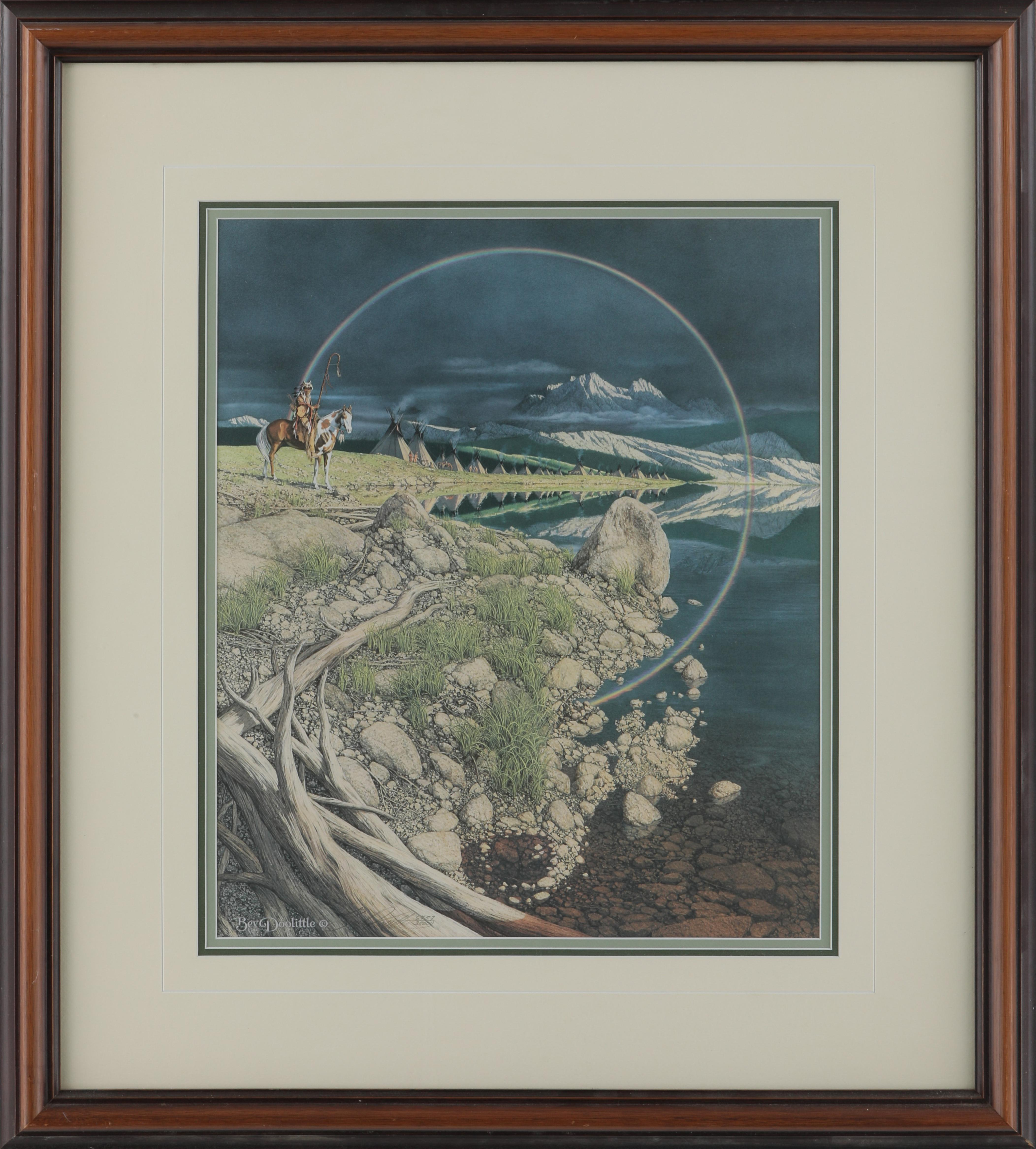 "Bev Doolittle's ""The Sentinel"" Limited Edition Framed Print"