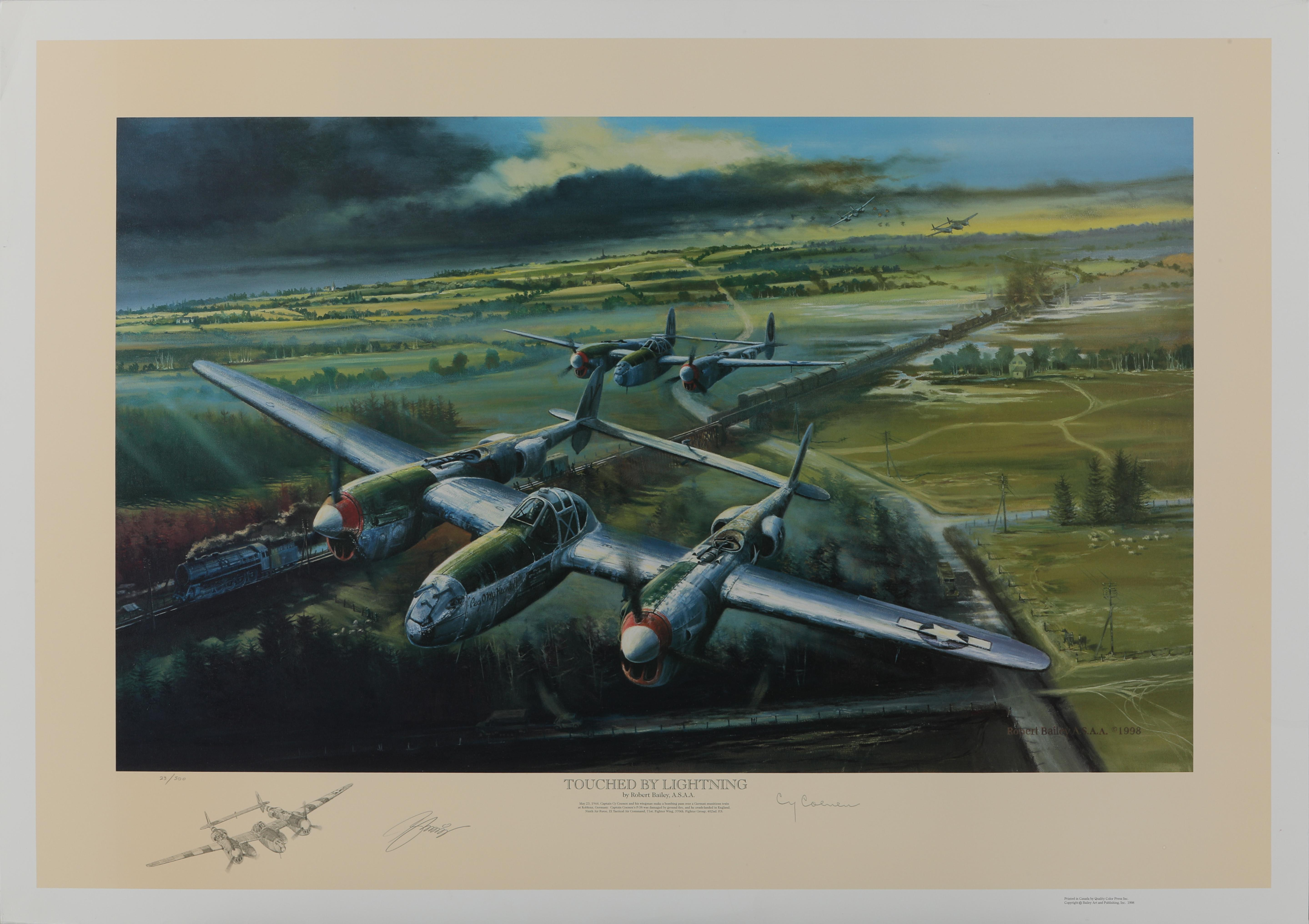 """Robert Bailey's """"Touched by Lightning"""" Limited Edition Print"""