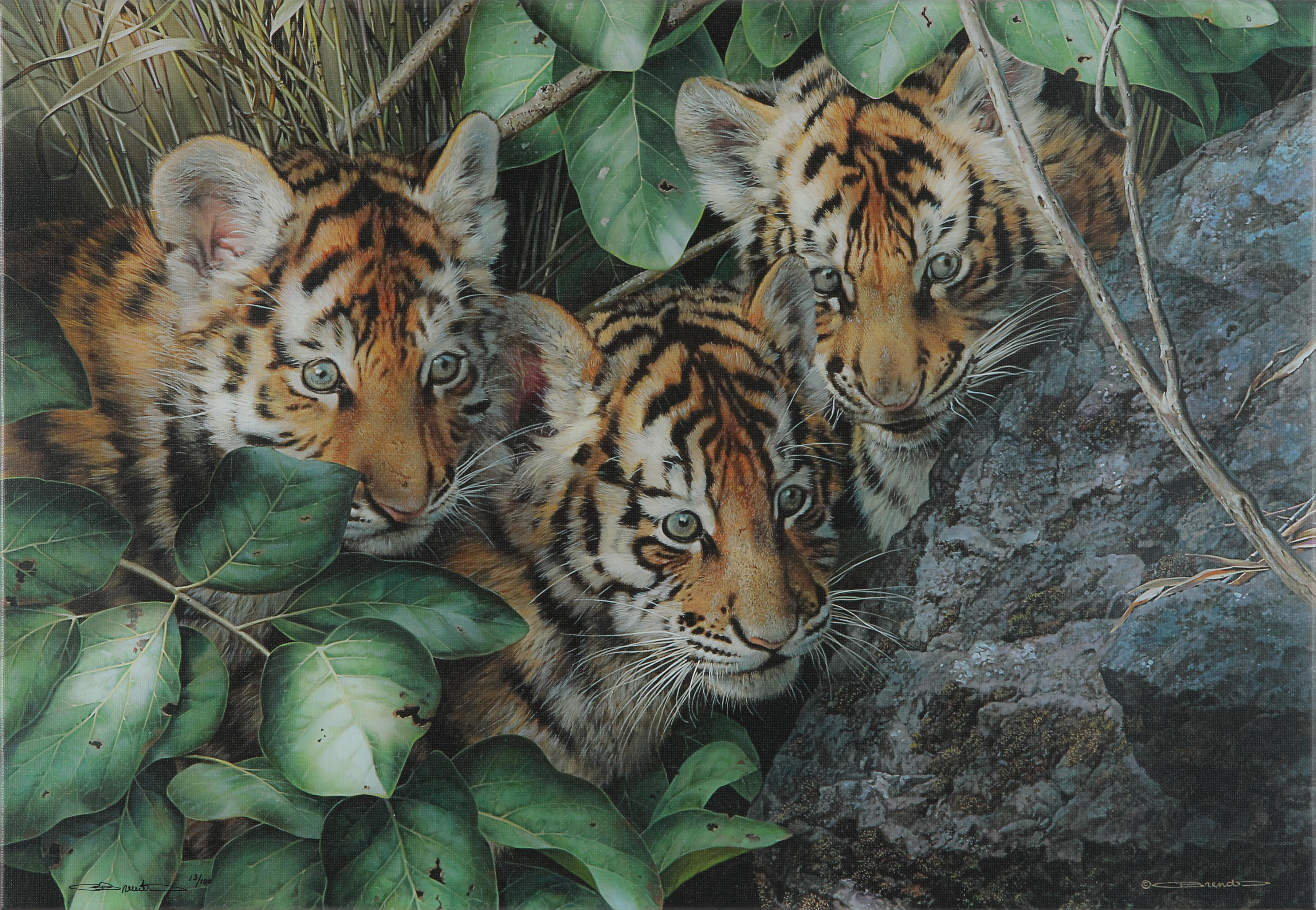 "Carl Brender's ""Hide And Seek"" Limited Edition Giclee Canvas"