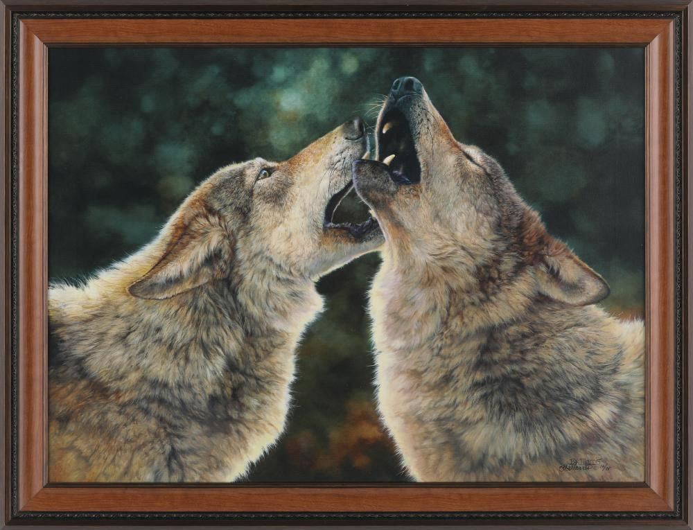 """Bonnie Marris's """"Sing Out"""" Limited Edition Canvas"""